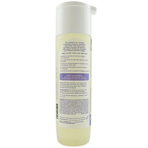 Lavender shampoo kids