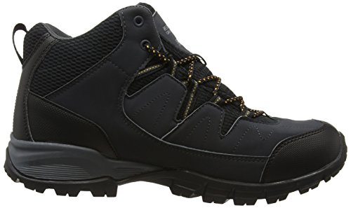 Regatta Hombres Trail Holcombe Mid Walking Botas Sello Gris / Oro Inca