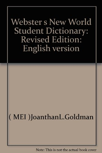 Webster s New World Student Dictionary: Revised Edition: English version