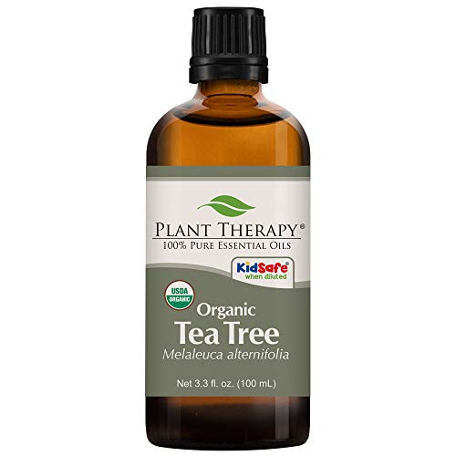Plant Therapy Tea Tree Organic Essential Oil | 100% Pure, US