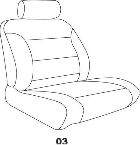 Tan Premier Tweed Fabric Elegant E T7516 Custom Made Bucket Seat Covers
