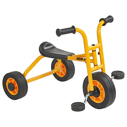 RABO My First Pedaling Trike (powered by ECR4Kids), Beginner Tricycle for Backyards & Schoolyards -