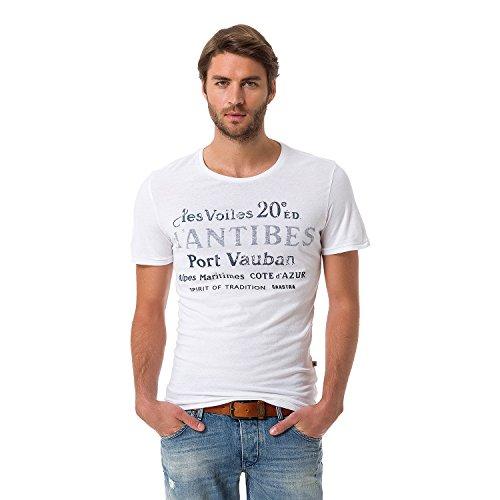 Gaastra Herren T-Shirt Caribbean Sea weiss Größe S