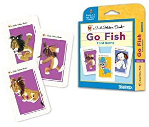A Little Golden Book Go Fish Card Game