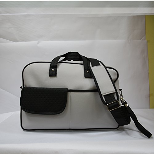 Bolso paseo Baby Star color Gris/negro