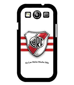 Galaxy S3 Funda Case, Football Club - River Plate Scratch Resistant Drop Proof Durable & Slim Exclusive Attractive Art Pattern Suitable For Samsung Galaxy S3 i9300