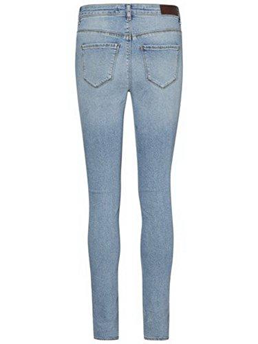 Moda Slim Femme Jean Vero Bleu dw7xqHdSB