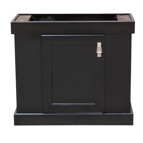 Marineland 48598 Simple Modern Stand, 24'' x 24'', Black by MarineLand
