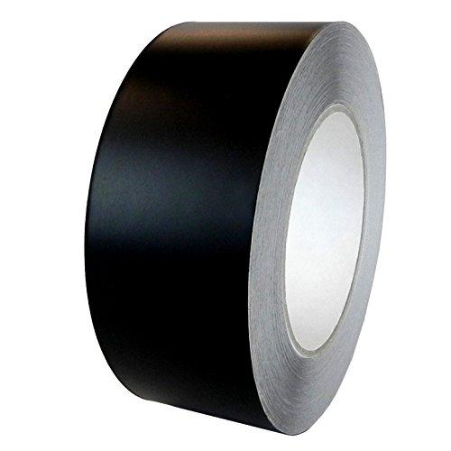 ALLTADESPOT Gaffers tape heavy duty dark tape Real Premium Grade, BLACK 2 Inch X 60 YD (55M) PACKAGE OF 1 ROLL