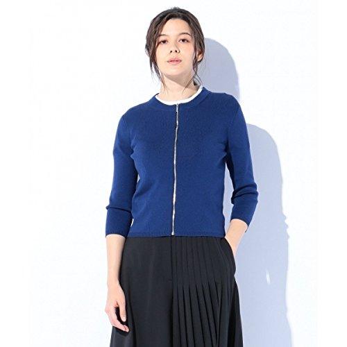 カルバン?クライン ウィメン(Calvin Klein women) 【春のニット】コットンシルクバッグプレーティング カーディガン