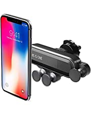 Car Phone Mount, MAKEI1 Intelligent Car Phone Holder, Handsfree Shockproof Design Cell Phone Car Mount Compatible iPhone Xs/Xs Max/XR/X / 8/8 Plus Samsung Galaxy S10 / S10+ / S9 / S9+ and More