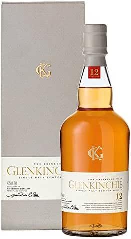Glenkinchie 12 Años de Edad Whisky escocés de 70cl (Pack de 70 cl ...