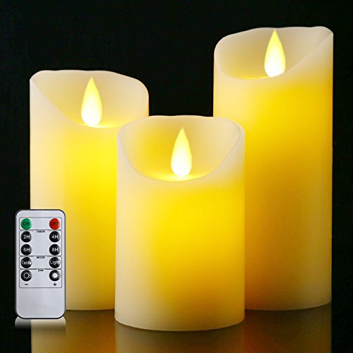 Battery Operated Candle Set - 8