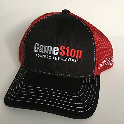 NEW ERIK JONES Nascar Team Issued Hat CAP GAME STOP VIDEO GAMES Joe Gibbs Racing Toyota TRD
