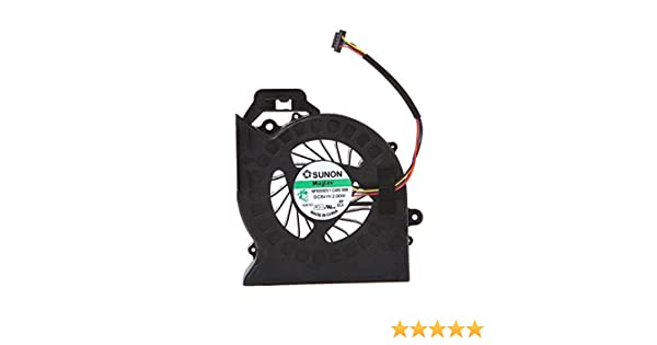 Eathtek Replacement CPU Cooling Cooler Fan for HP Pavilion dv6-6135dx dv6-6136nr dv6-6138nr dv6-6140us dv6-6144ca dv6-6145ca dv6-6145dx dv6-6148ca dv6-6155ca dv6-6157nr dv6-6158nr series