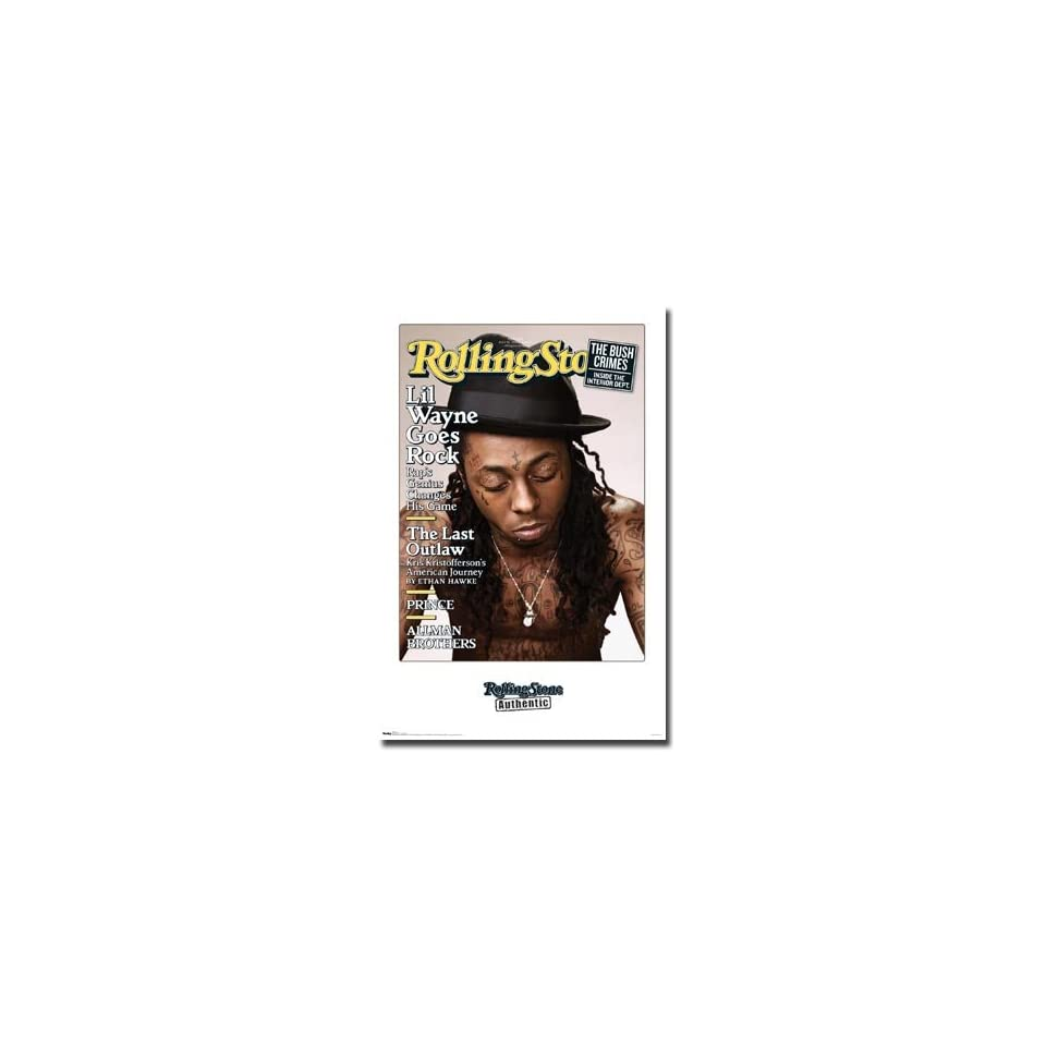 Lil Wayne ~ The Carter ~ Rolling Stone Cover ~ Poster Print Approx 22 x 34 inches