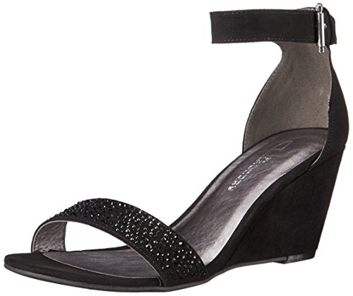 Micro Suede Sandals (CL by Chinese Laundry Women's Neila Wedge Pump Sandal, Black Micro Suede, 8 M US)
