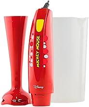 Mixer Mickey Mouse 170W Mallory 220V Mallory Vermelho 220V