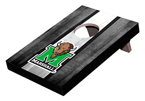 Wild Sports NCAA College Marshall Thundering Herd Mini Cornhole Game