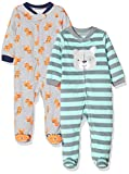 Apparel : Simple Joys by Carter's Baby Boys' 2-Pack Fleece Footed Sleep and Play