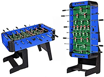 FUTBOLÍN PLEGABLE CITY BLUE: Amazon.es: Juguetes y juegos