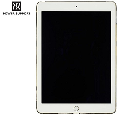 Power Support Air Jacket Clear + AFP Crystal Clear Protective Film for iPad Air 2 (2015) (Japanese Import) (Clear)
