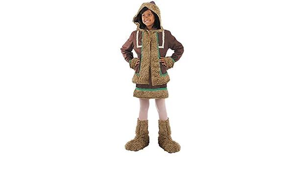 Disfraz esquimal niña Talla 12 Único: Amazon.es: Juguetes y juegos
