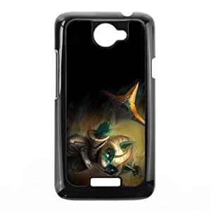 HTC One X Cell Phone Case Black League of Legends Swamp Master Kennen UN7318763