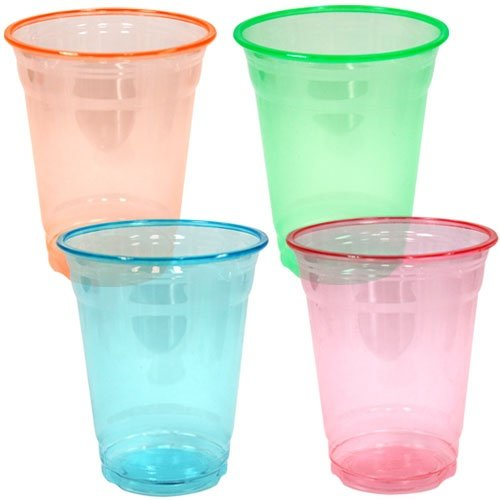 Ounce Plastic Tumblers Assorted Colors