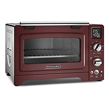 KitchenAid KCO275GC Convection 1800-watt Digital Countertop Oven, 12, Gloss Cinnamon