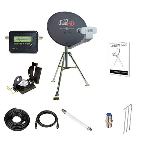Dish Network Turbo HDTV Satellite Tripod - Signal Meter Dishnetwork