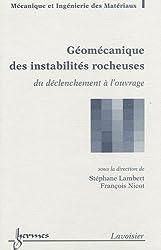 Géomécanique des instabilités rocheuses : Du déclenchement à l'ouvrage