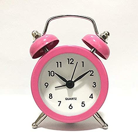 MEIDI HOME Creative Mini Silent Alarm Clock for Kids