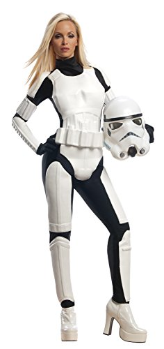 Women's Star Wars Stormtrooper Outfit Adult Fancy Dress Halloween Costume, S (4-6) -
