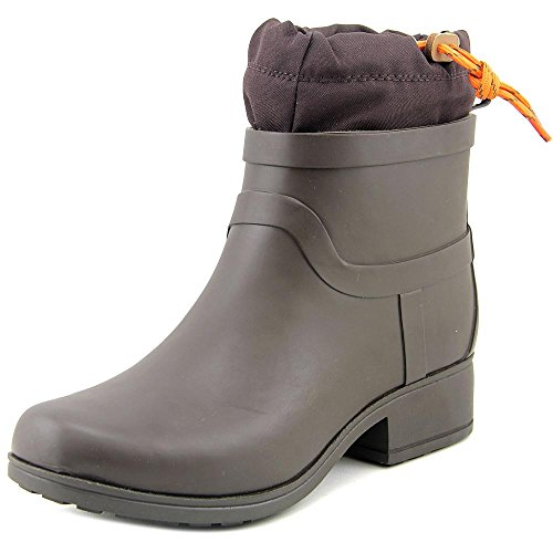 Lucky Brand Women's Rebeka Ankle Boot,Dark Moss/Java Rubb...