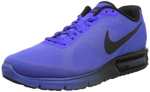 Nike Heren Air Max Sequent Loopschoen Racer Blauw / Zwart 46 Eu