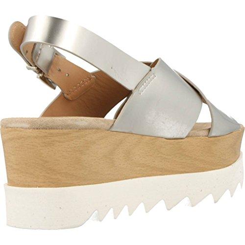 Sandalias y chanclas para mujer, color Plateado , marca ALPE, modelo Sandalias Y Chanclas Para Mujer ALPE VERA BASICS B3 Plateado Plateado