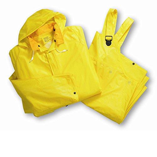 West Chester 4025E X2XL Rainwear 25 mL Single Ply Rain suit, 3XL, ()