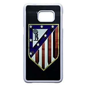 Atletico Madrid Logo 003 Samsung Galaxy Note 5 Edge Cell Phone Case White Protective Cover