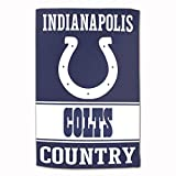 "Master Industries Indianapolis Colts Sublimated Cotton Towel- 16"" x 25"""