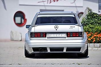 Rieger Trasero alas de Ancho diseño II para Mercedes Benz 190 (W201): Amazon.es: Coche y moto