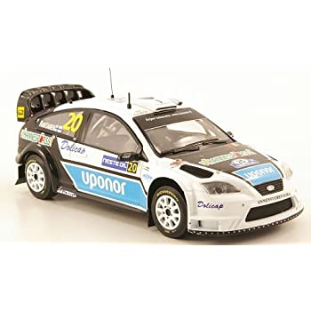 Ford Focus WRC, No.20, Uponor, WRC, Rally Finland, 2008, Model Car, Ready-made, IXO 1:43