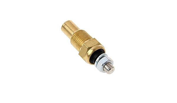 Electrical Sender Water//Oil Temp Temperature 1//8 NPT Electrical Sender Transmitter Sending Temp Sensor Unit