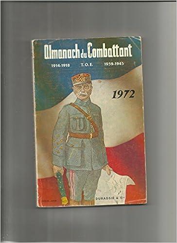 Livres gratuits en ligne Almanach du Combattant 1972 epub pdf