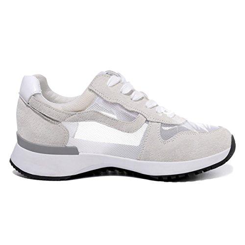 Mujer Blanco ligeras Zapatillas Fitness Running deportivas Zapatillas Deporte Lusam Zapatillas de de Entrenamiento Sensación Casual BxR5nx6wqp