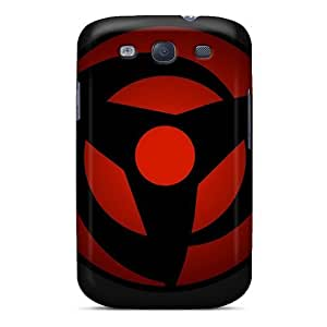 Sanp On Case Cover Protector For Galaxy S3 (vector Naruto Shippuden Sharingan)