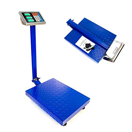 660lbs Digital Heavy Duty Shipping and Folding Postal Scale with 19.68