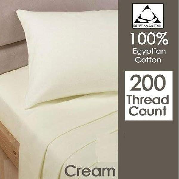 Par de fundas de almohada, Rayyan Linen, 100% algodón egipcio de ...