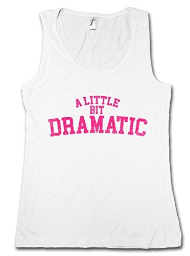 Regina George Costumes (Urban Backwoods A Little BIT Dramatic Women Tank Top Gym Fitness Training Shirt)