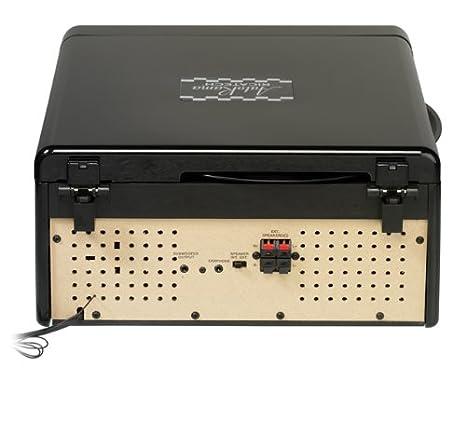 Ricatech RMC100 - Tocadiscos (4 W, Negro, 344.5 mm, 385 mm ...